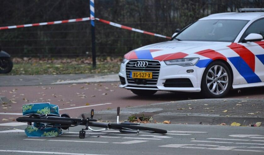 De fietsers raakten gewond.