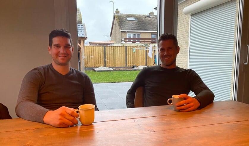 Eduard van Oeveren (l) en Bennie de Witte van B&E.