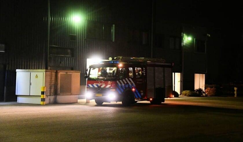 <p>De brand woedde bij een uienbedrijf aan Kloosterpoort in Kapelle.</p>