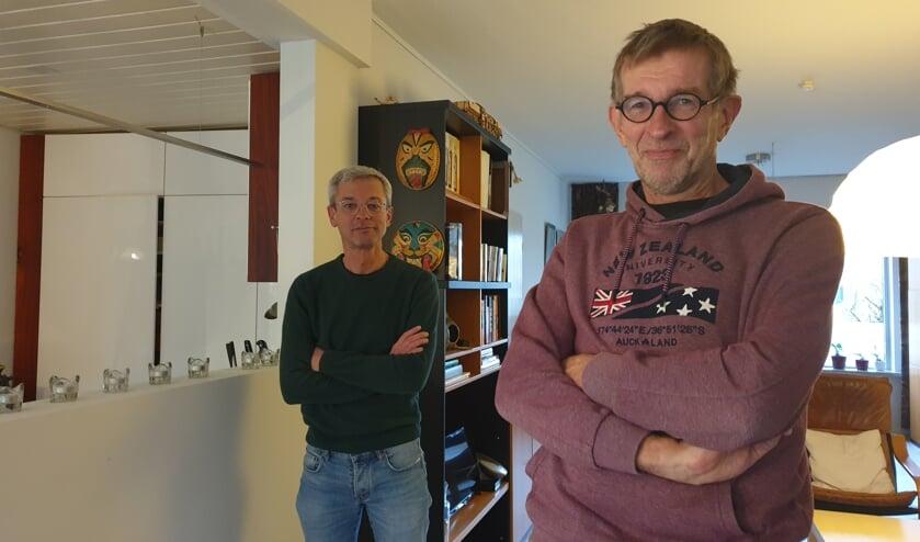 Rob van Beurden en Huub Gerritsen