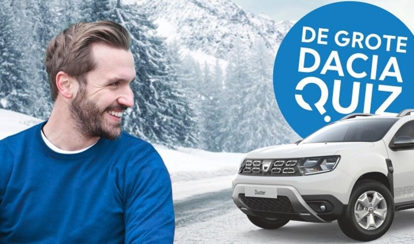 Doe mee aan De Grote Dacia Quiz.