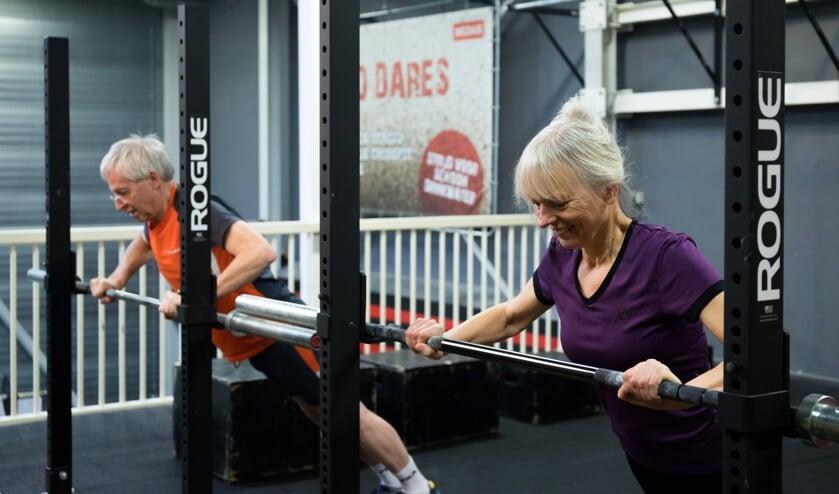 'Door de trainingen ben ik sterker en fitter geworden en heb ik geen last meer van mijn onderrug!'