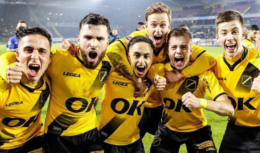 NAC na de winst op PSV eerder in het Bekertoernooi