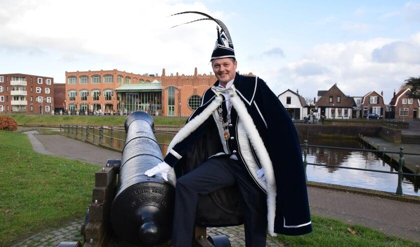 Prins Carolus I verovert Leur en geeft de Toon Aon. FOTO STELLA MARIJNISSEN