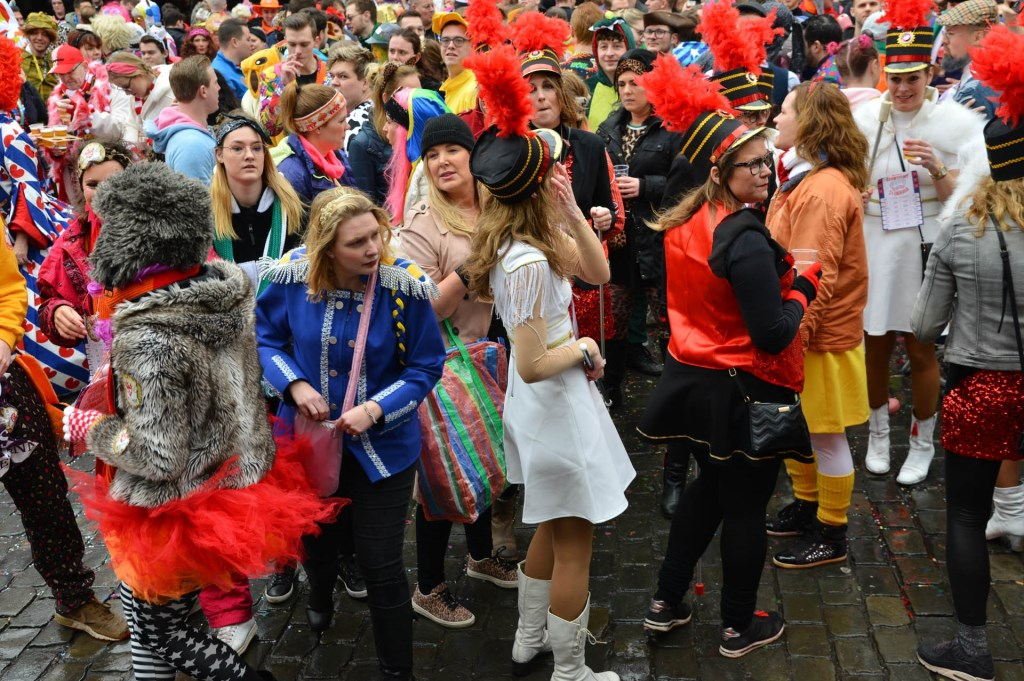De klûners hebben er zin in! Foto: Perry Roovers © BredaVandaag
