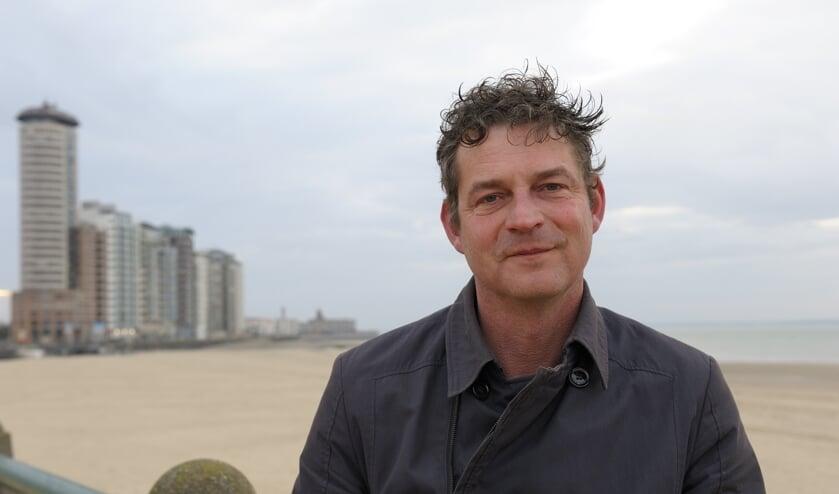 Decorbouwer Frank de Kort van Muziektheater Zeeland. FOTO ANNET EEKMAN