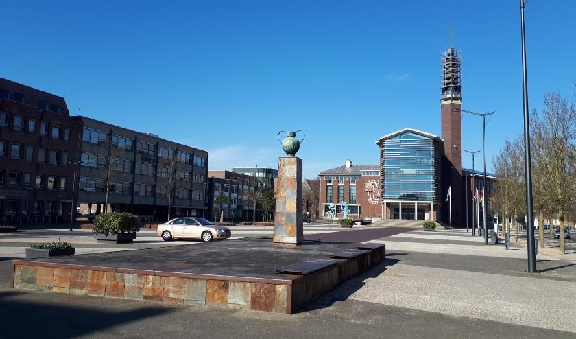 Het gemeentehuis in Vlissingen.