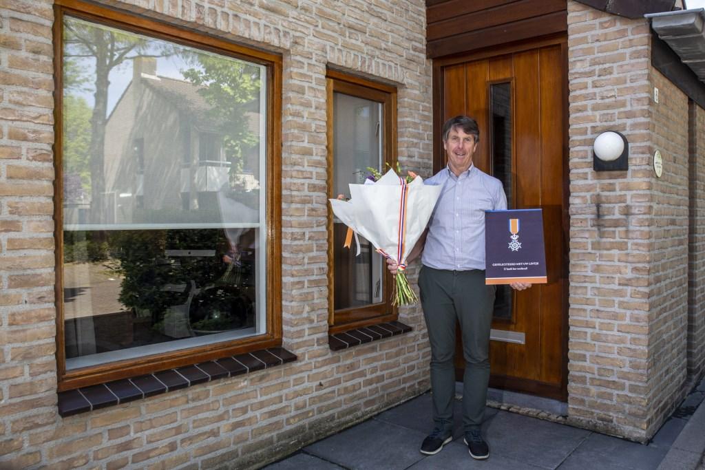 Herman Kruis kreeg de hoogste onderscheiding Foto: Jorgen Janssens © BredaVandaag