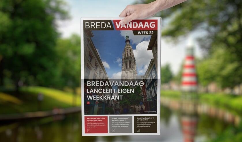 BredaVandaag brengt vanaf juni haar eigen weekkrant uit