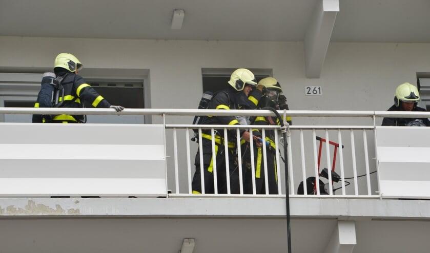 De oorzaak van de brand was de afzuigkap.