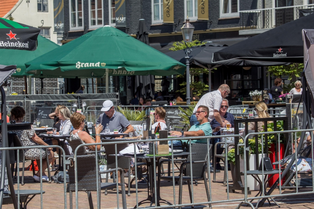 De Markt in Zevenbergen. Foto: Alexander Vingerhoeds © Internetbode