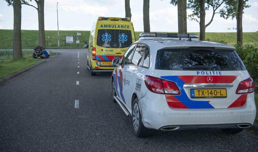 De politie en ambulance kwamen met spoed ter plaatse.