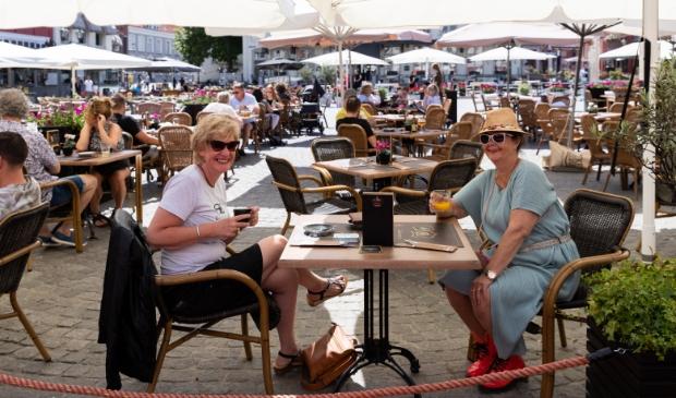 Op de Grote Markt in Bergen op Zoom. Foto: Luciennefotografie © Internetbode
