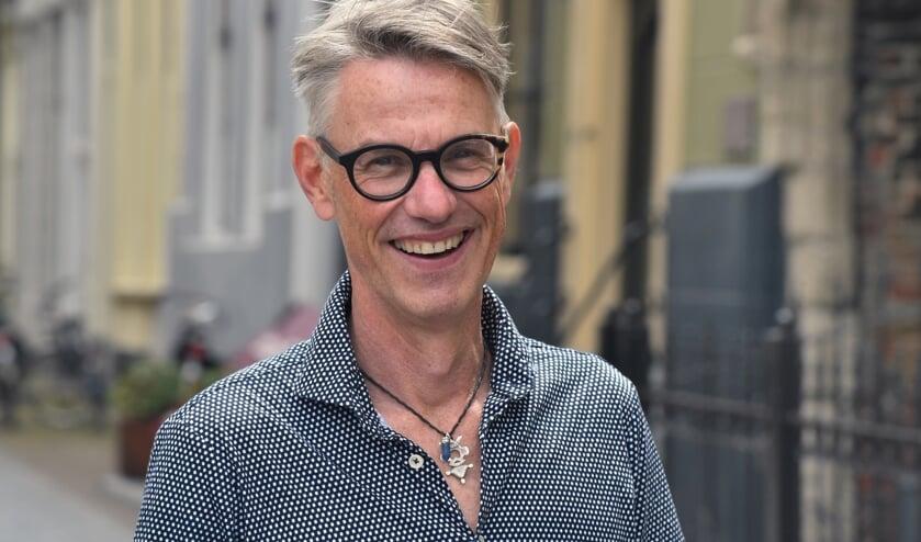 <p>Scheidend directeur van de Cultuurwerf Onno Bakker.</p>