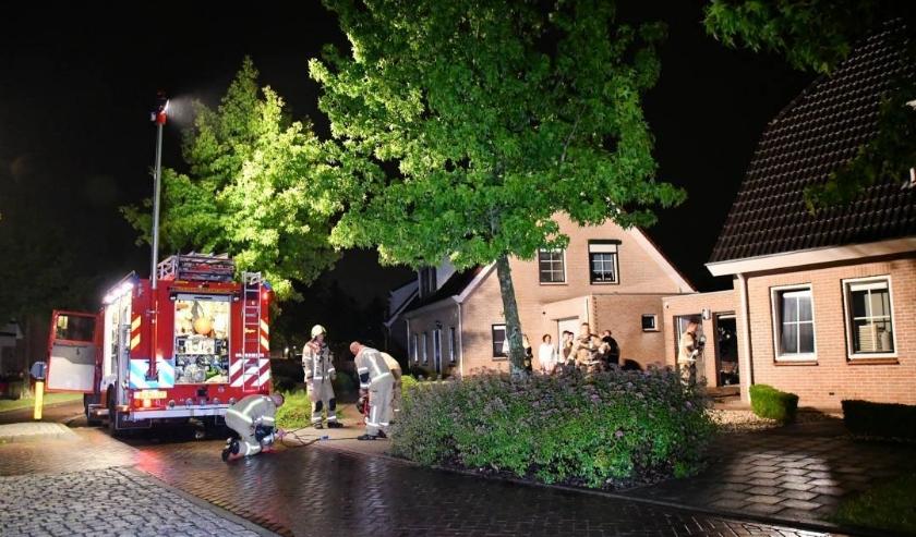 De brandweer moest uitrukken naar de Ambachtsherenlaan.