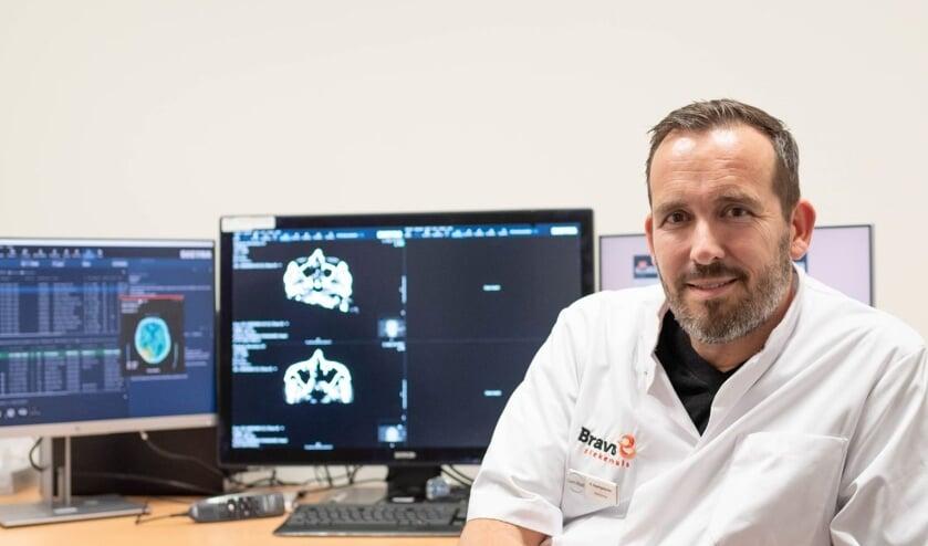 Elmer Naaktgeboren, radioloog in het Bravis ziekenhuis en initiatiefnemer van dit project.