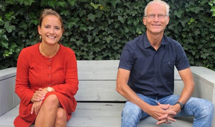 Joyce Hoogers en Ronald Rensen.