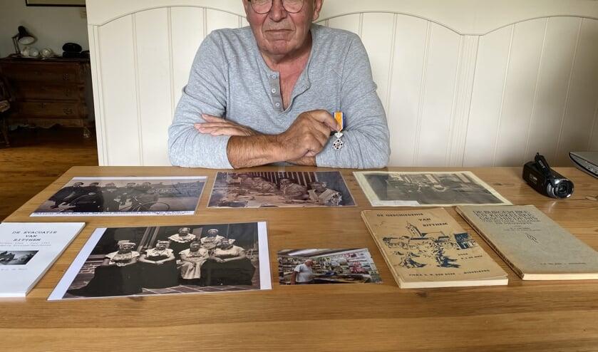 Wim de Meij is altijd op zoek naar oude foto's en filmpjes van Vlissingen en omgeving.