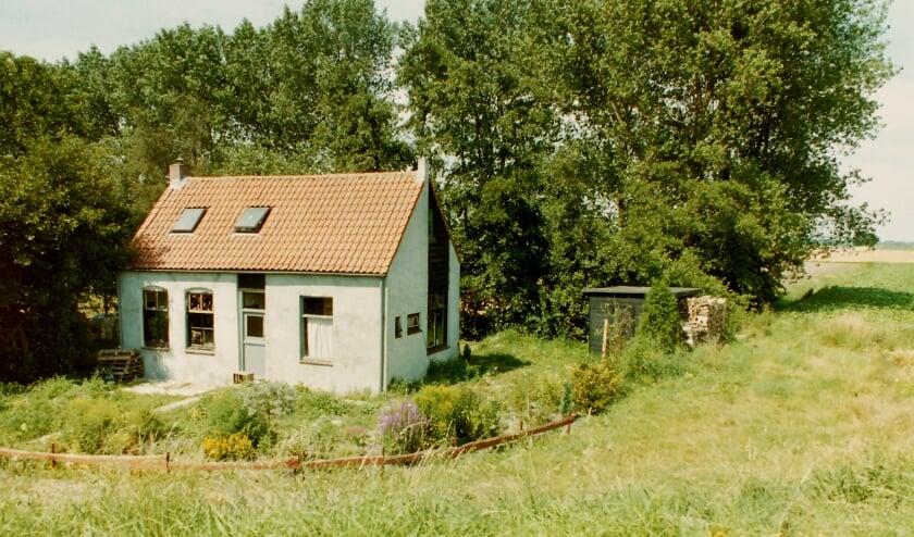 Wie herkent deze locatie en wie woonde in dit huisje.