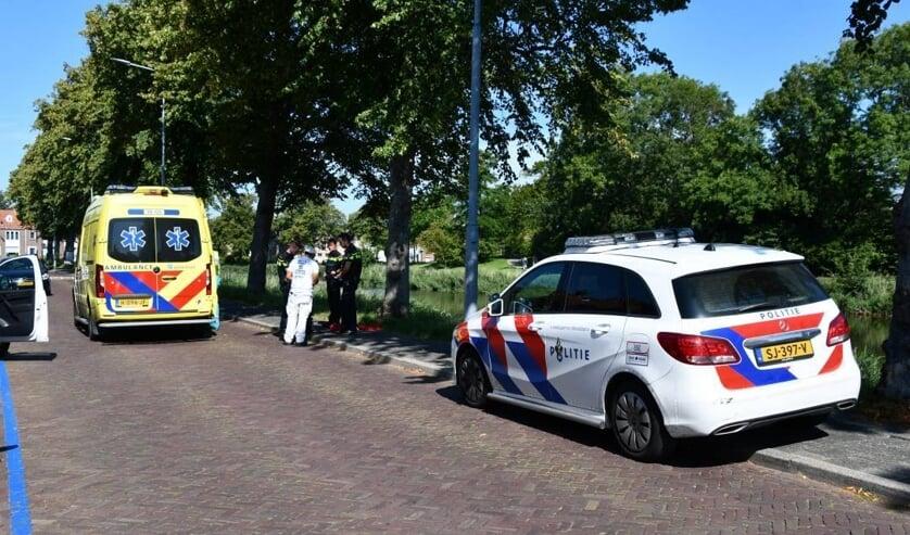 Het ongeluk gebeurde op de Langevielesingel in Middelburg.