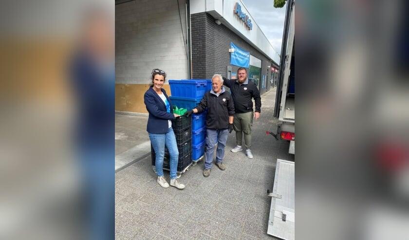 Bij Albert Heijn de Burcht in Breda zijn de eerste kratjes al opgehaald.