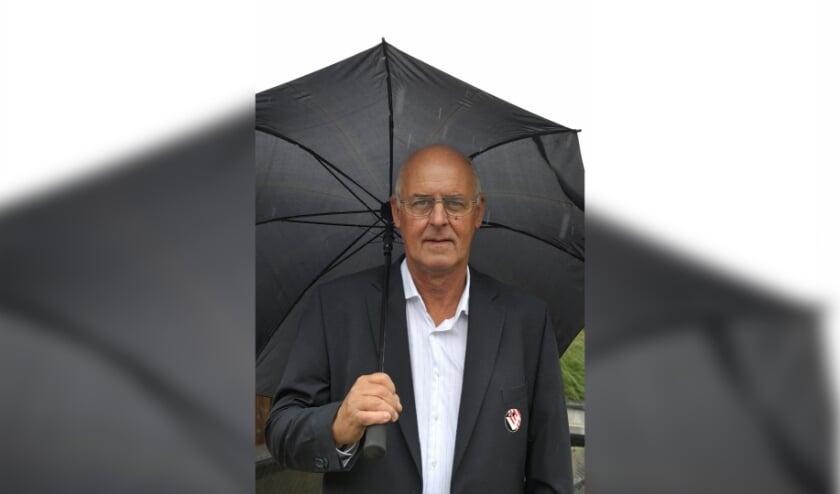 Johan de Visser is de voorzitter van VC Vlissingen.
