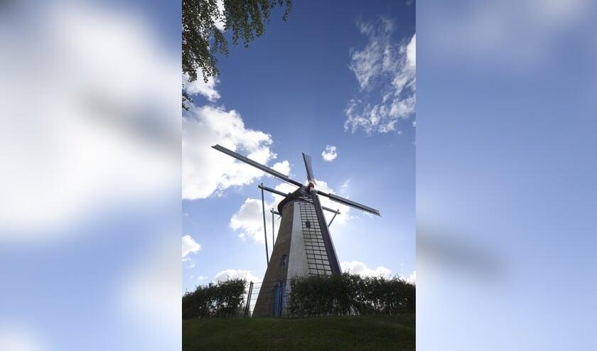 De oude molen van Colijnsplaat
