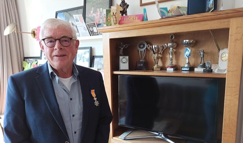Leo Driesprong was vijftig jaar lid van de schietvereniging.