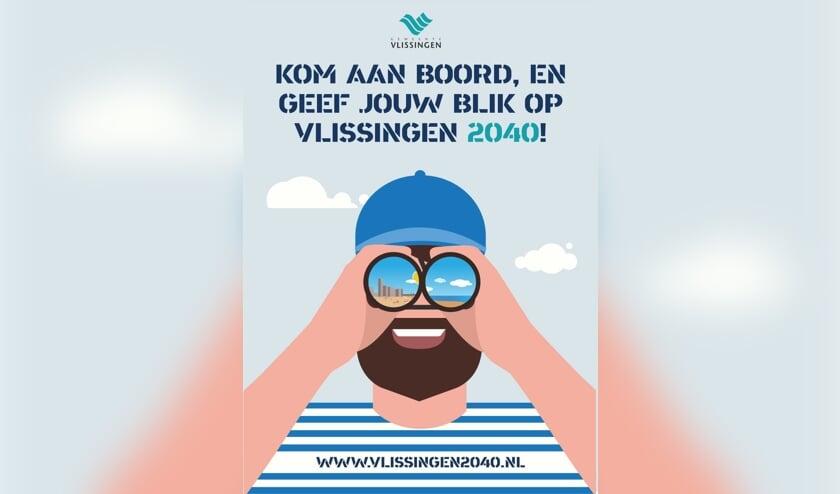 Iedereen kan meedenken over de toekomst van de gemeente Vlissingen.