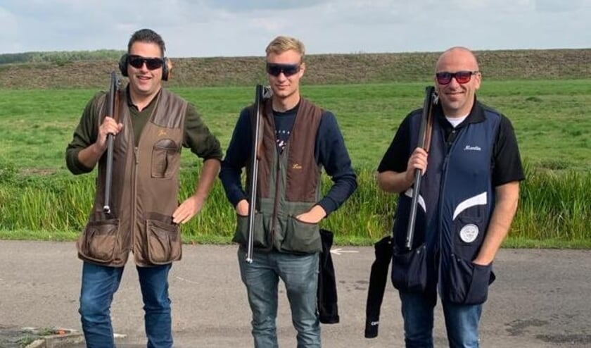 Team Doublet, met Jan Werri, Lau de Jager en Martin van der Kuijl (vlnr).