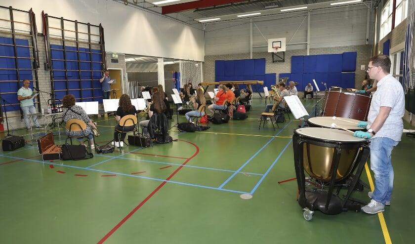 Repetitie OVM voor Concert van de Vrede.