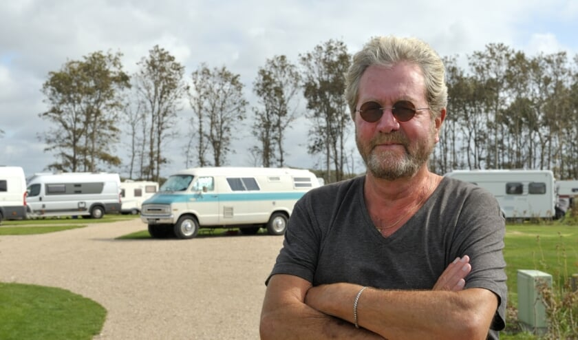 Voorzitter Louis Filius van camping Zeelandia.