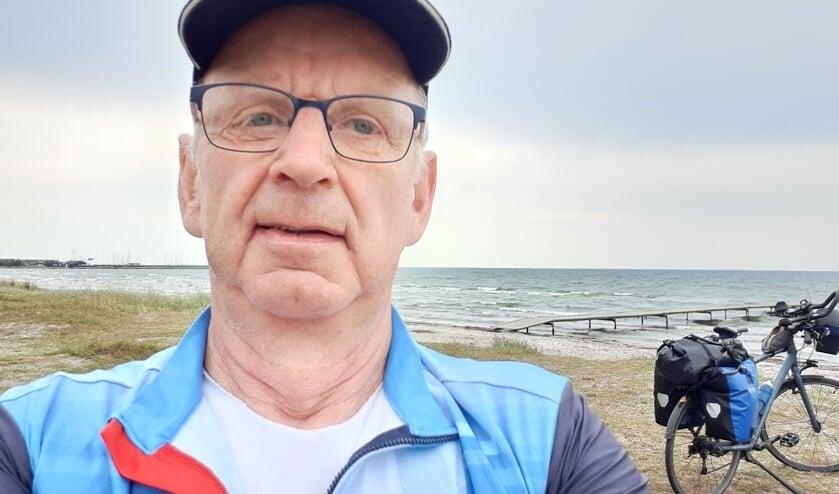 <p>Leon van Meir wilde naar de Noordkaap fietsen, maar strandde bij de Zweeds-Finse grens.</p>