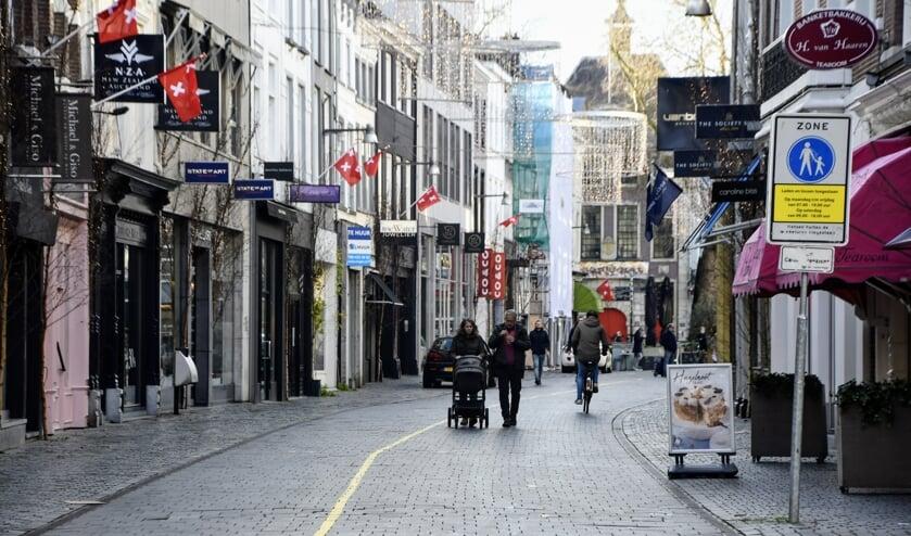<p>Het voetgangersgebied in Breda</p>