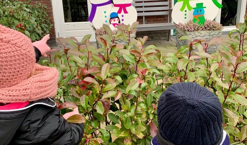 <p>Zoek de sneeuwpoppen.</p>
