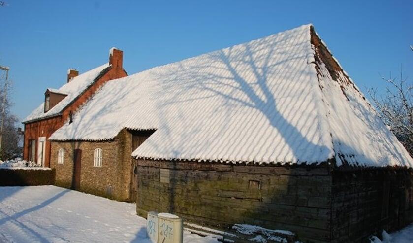 Zo zou het er zaterdagmiddag weleens uit kunnen zien met een paar cm sneeuw.
