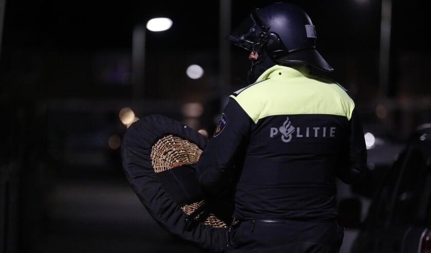 <p>In buurtsteden moest de politie al in actie komen.&nbsp;</p>