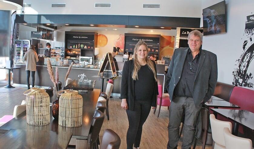 """""""De sfeer hier is uitstekend en het personeel serveert pure passie"""", aldus Piet en Leonie Huijbregts."""