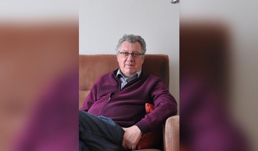 <p>Jo de Bruijn, vrijwilliger bij woonzorgcentrum De Nieuwe Haven in Dinteloord.</p>