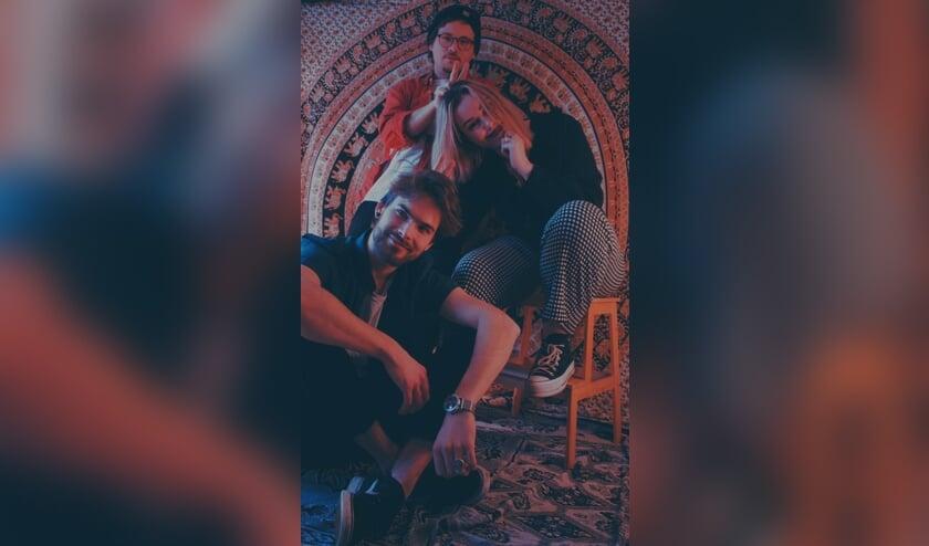 De bandleden van Winson Blue.