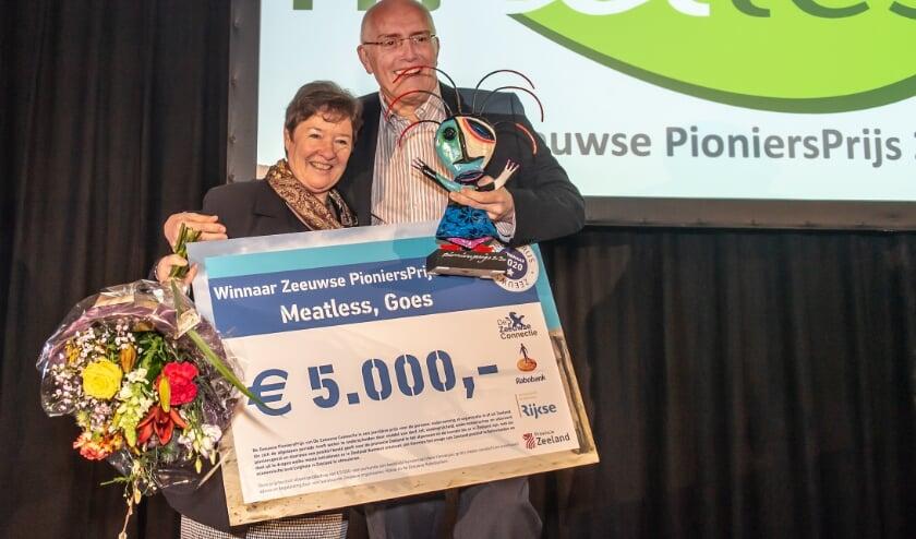 Winnaar vorig jaar: Meatless, de heer en mevrouw Hugense
