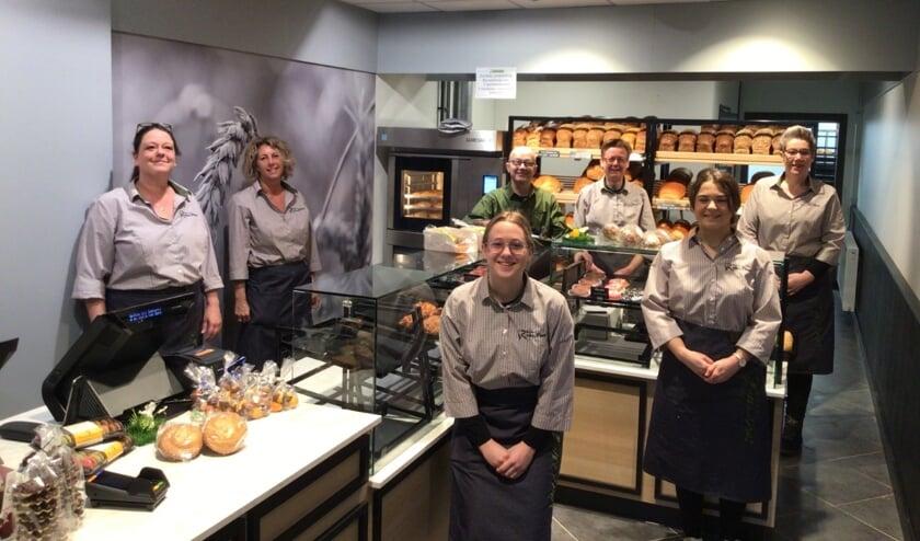 <p>Het team van Bakkerij van Oers in Etten-Leur.</p>