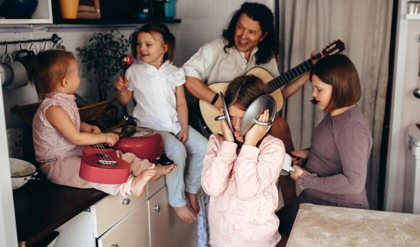 <p>Muzikale familie.</p>