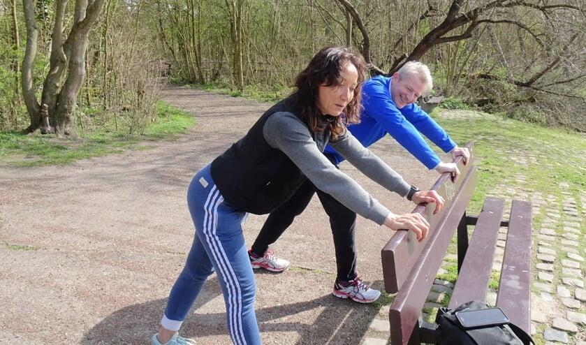 <p>Personal trainer Joyce Palm en Stephan Floor.</p>