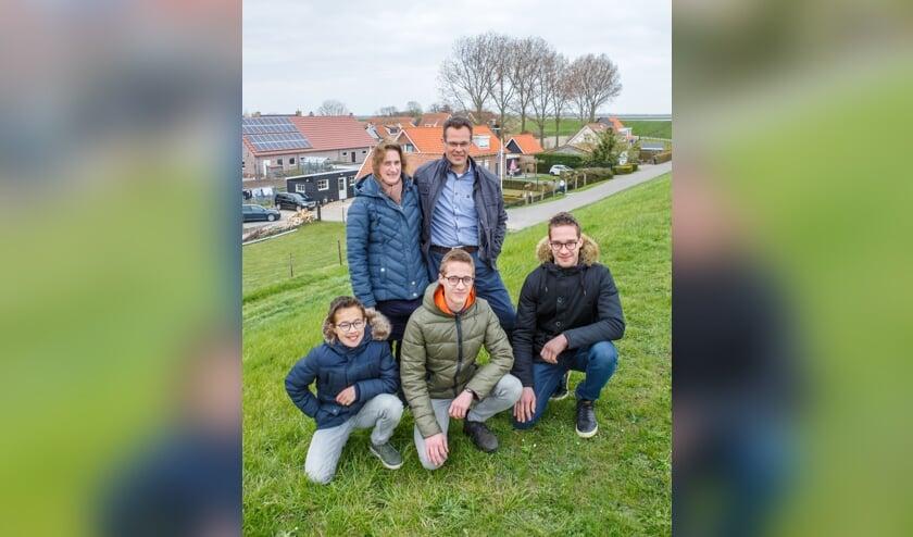 <p>Het gezin Van de Vlies.&nbsp;</p>