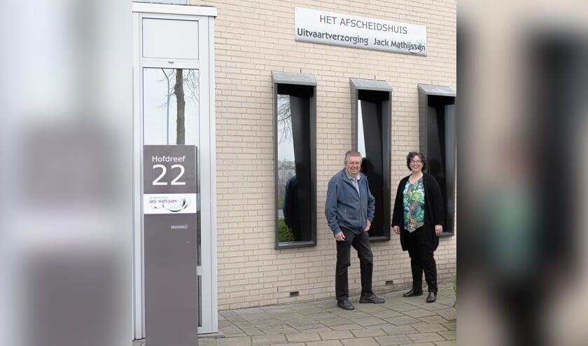 Jack Mathijssen en Annelies van Dongen-Rombouts.