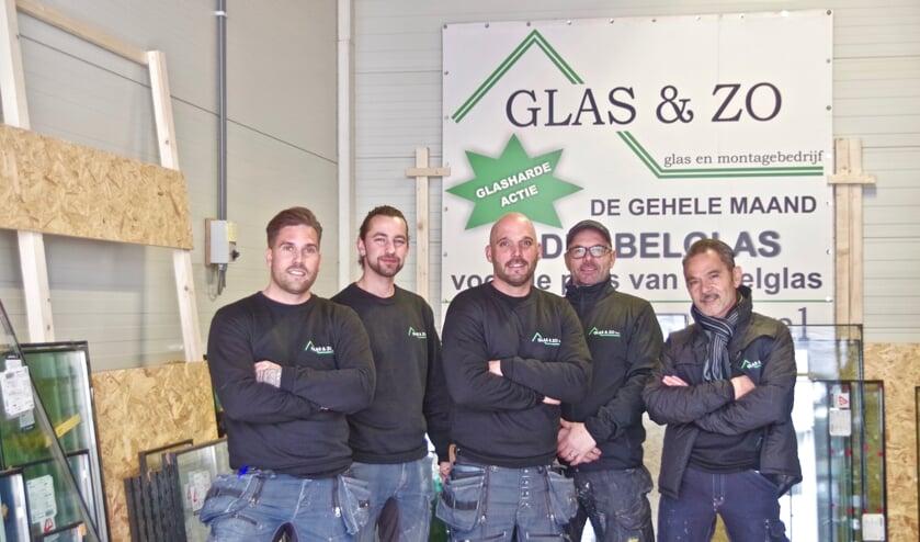 Het team van Glas & Zo.