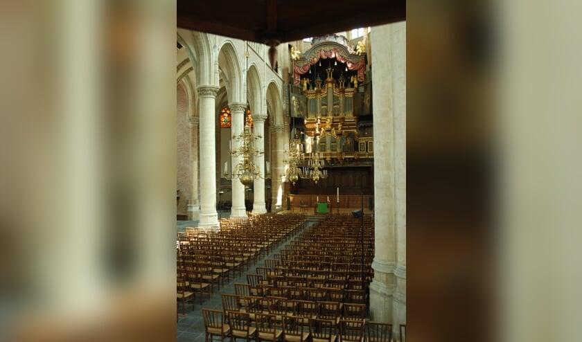 <p>De Grote of Maria Magdalenakerk in Goes.</p>