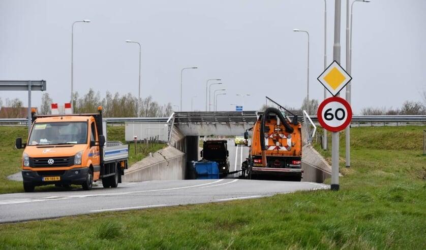 Afsluiting Krooneveldweg Middelburg