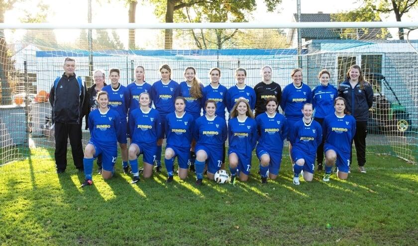 <p>Het damesteam van Vivoo Huijbergen.</p>